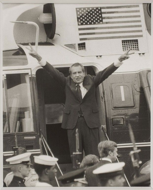 "Pat Nixon Robert Kennedy: ""Nixon Leaving The White House,"" August 9, 1974"