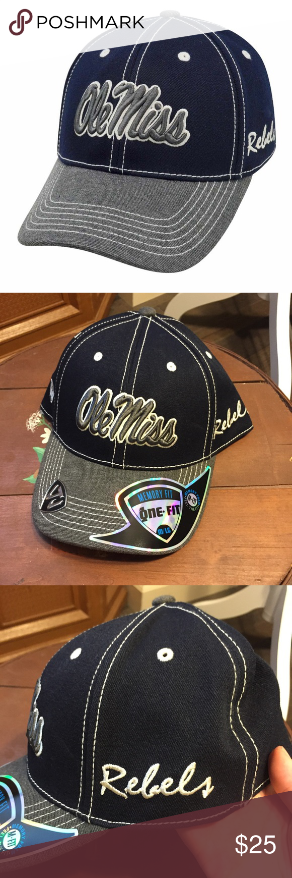 release date a0d5d 9eade Ole Miss Rebels High Post Hat M L NWT NCAA Brand new with tags!  ygwyt002  Mississippi unisex men or women NCAA Accessories Hats