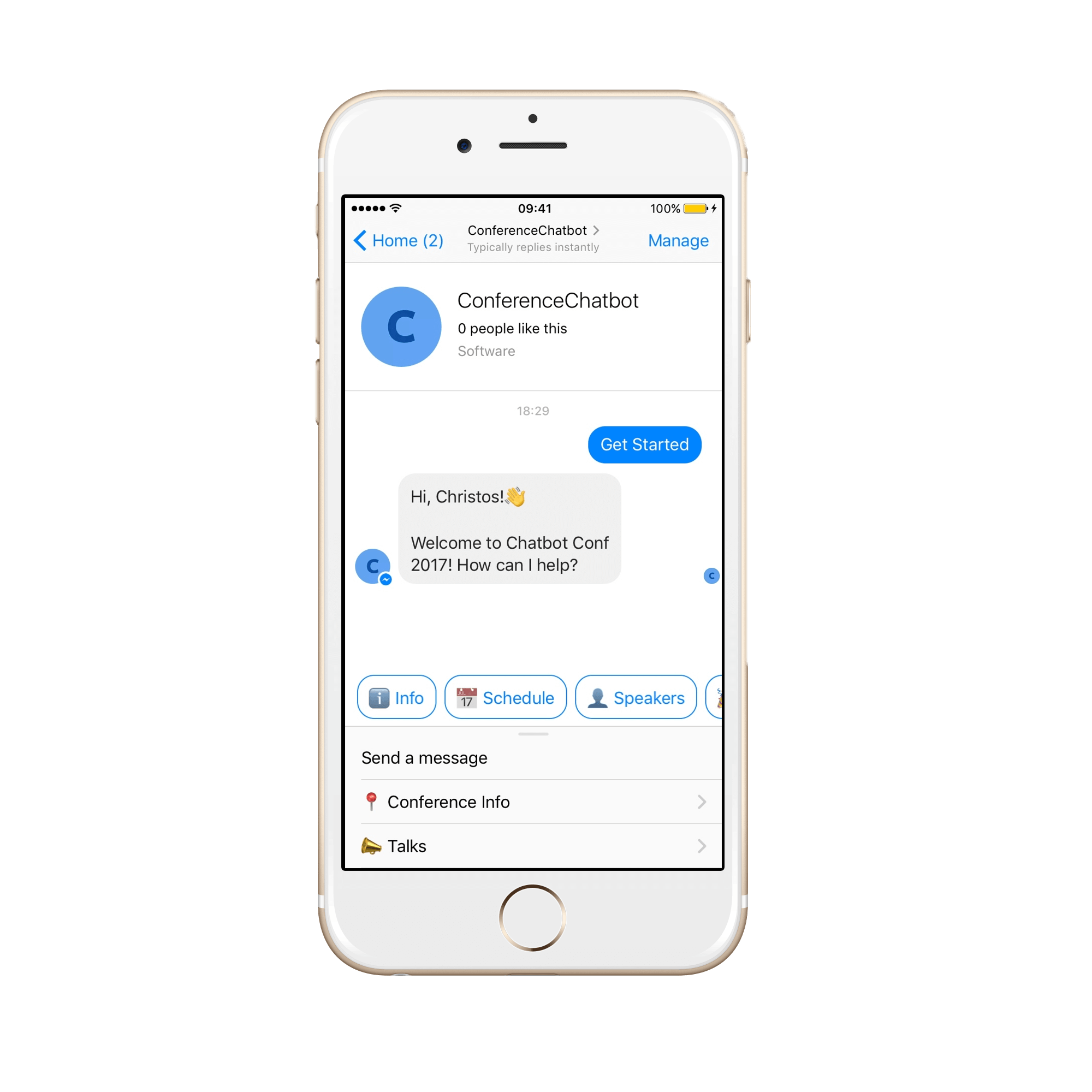 Chatbot Keszites Messenger Platformra Chatbot The Chatbot Device Which Help To Provide Customer Service In 24 7 Chatbot Keszites Chatbot Iphone Phone
