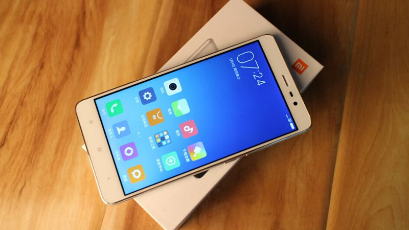 MIUI 10 For Xiaomi Redmi Note 3 Pro Finger print scanner
