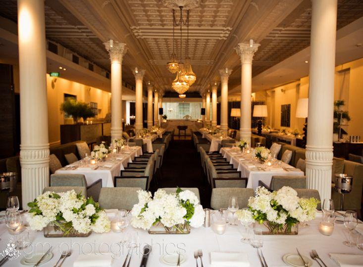 #White #Hydrangea #Table #Centre #PohoFlowers #Poho #Flowers #Weddings
