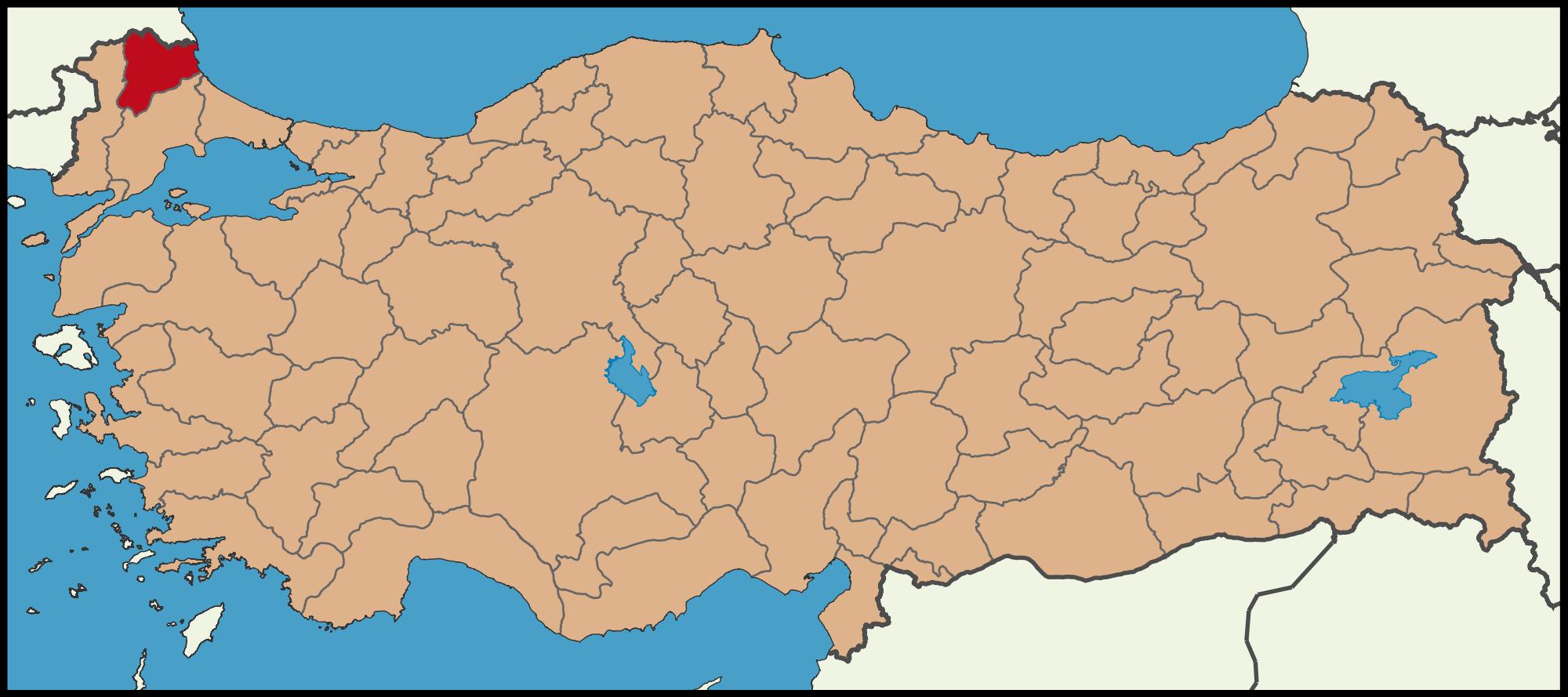 Kirklareli Google Da Ara Turkiye Harita Turizm