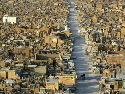 Maula Ali Shrine Wallpaper: Realfakescientist: Cityofbaghdad: The Najaf Cemetery