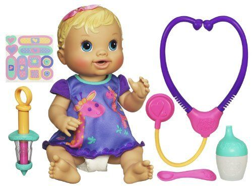 Baby Alive Baby All Better Blonde By Hasbro 29 96 Baby Alive Baby All Better Give Your Baby Alive A C Baby Alive Dolls Interactive Baby Dolls Baby Alive
