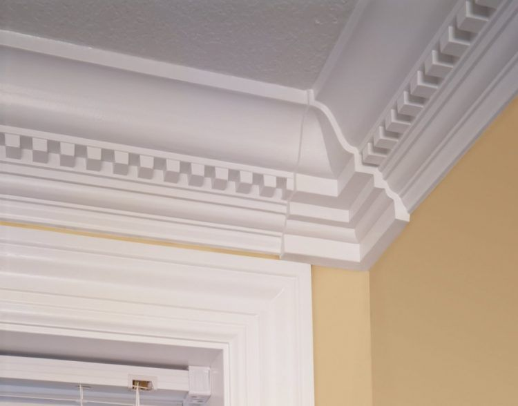 100 Amazing Crown Molding Ideas For Your Home Dentil Moulding Home Home Improvement
