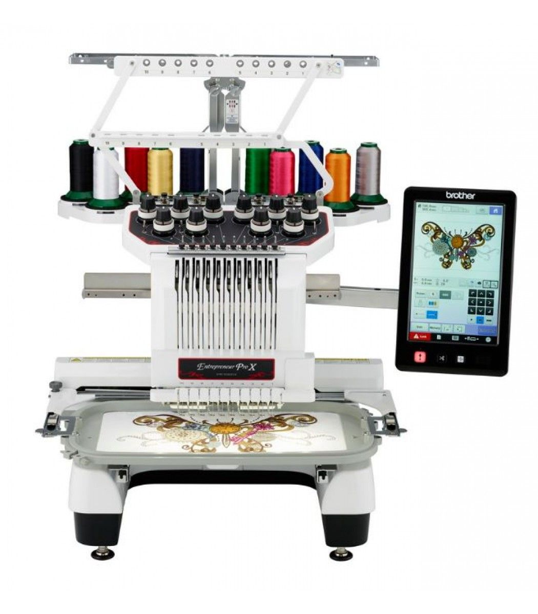 Brother PR1050X 10 Needle Industrial Embroidery Machine - BR-PR1050X ...