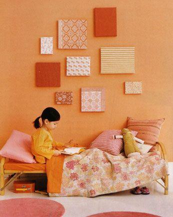 Pale Orange Paint primed4design   for the home   pinterest   orange walls, room and