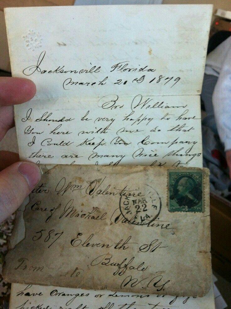 Vintage letter Handwritten Letters, Stationery, Post Cards - new letter envelope address format canada