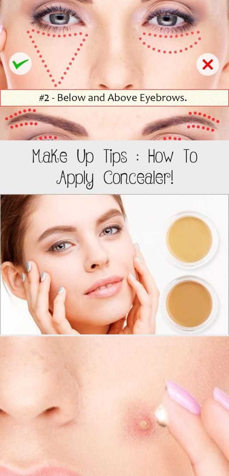 How to Apply Concealer the correct way? Learn basic makeup tips