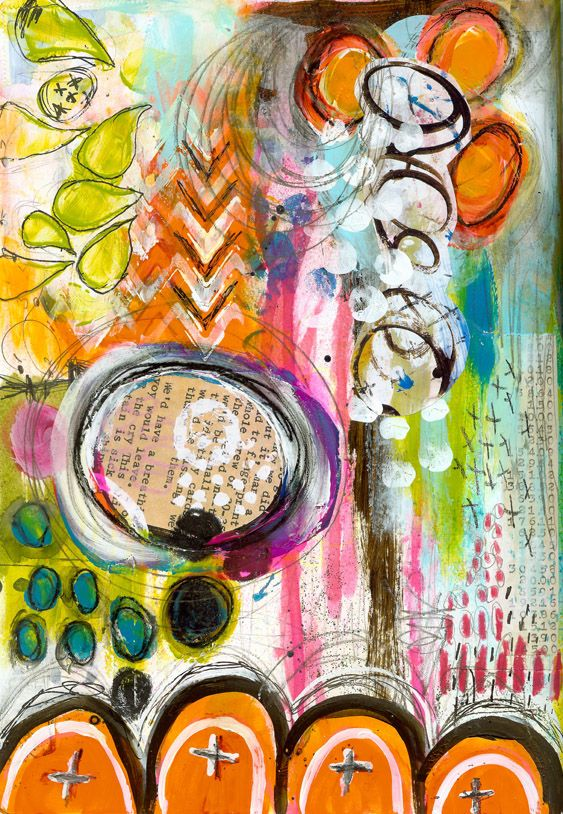 """""""Every Life Has a Story!"""" - {Roben-Marie Smith} Art Journal collaboration with Sandi Keene, Lorraine Bell, Barbara Moore and Rae Missigman."""