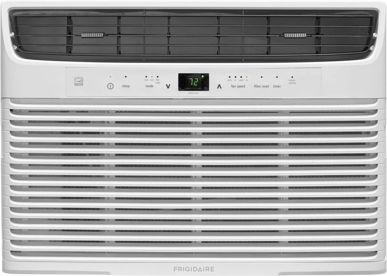 10000 BTU (Cool)/ 2.6 Pints/Hr Dehumidification/ 450 Sq. Ft. Cool Area/ Multi-Speed Fan/ Sleep Mode/ Effortless Remote Temperature Control/ Programmable 24-Hour On/Off Timer/ SpaceWise Adjustable Design Optional Side Panels/ Easy-To-Clean Washable Filter/ White Finish