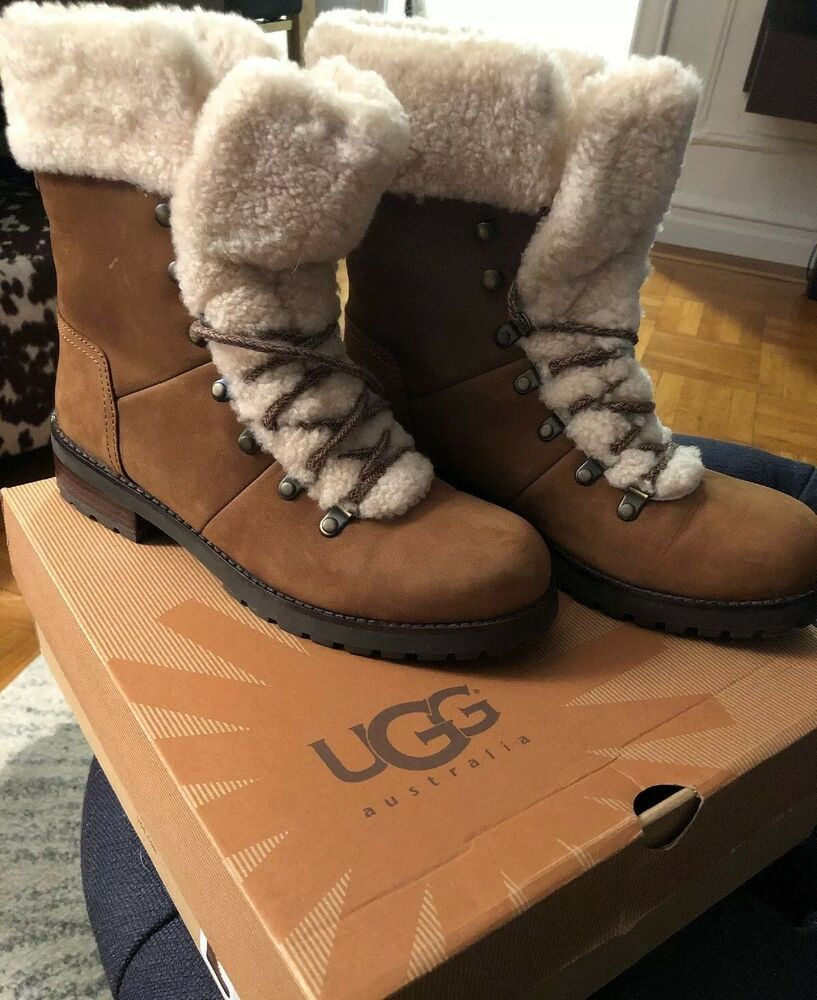 630d31211d7 UGG Australia: NWOT Womens Rugged Lace-up Boot (Size: 9) #fashion ...