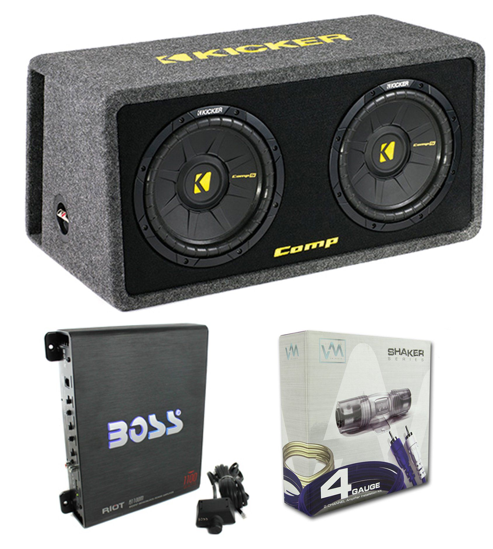 Kicker 40dcws122 12 inch 1200w subwoofer enclosure with mono kicker 40dcws122 12 inch 1200w subwoofer enclosure with mono amplifier sciox Image collections