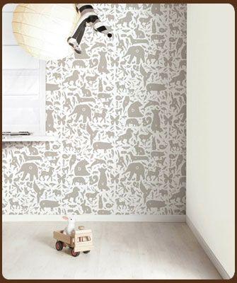 klein design hoorn - behang - veel merken behang, pip, eijffinger, Deco ideeën