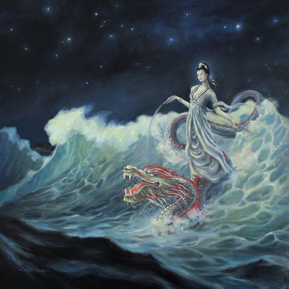 Guan Yin Rides the Dragon - Bryce Widom