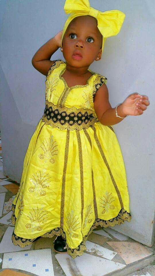 Great African Girls Party Dress Kid Africa