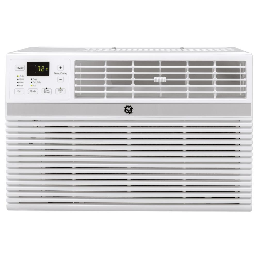 Ge 8 000 Btu Energy Star Window Smart Room Air Conditioner With