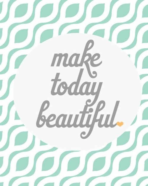 have a beautiful day / tgif!