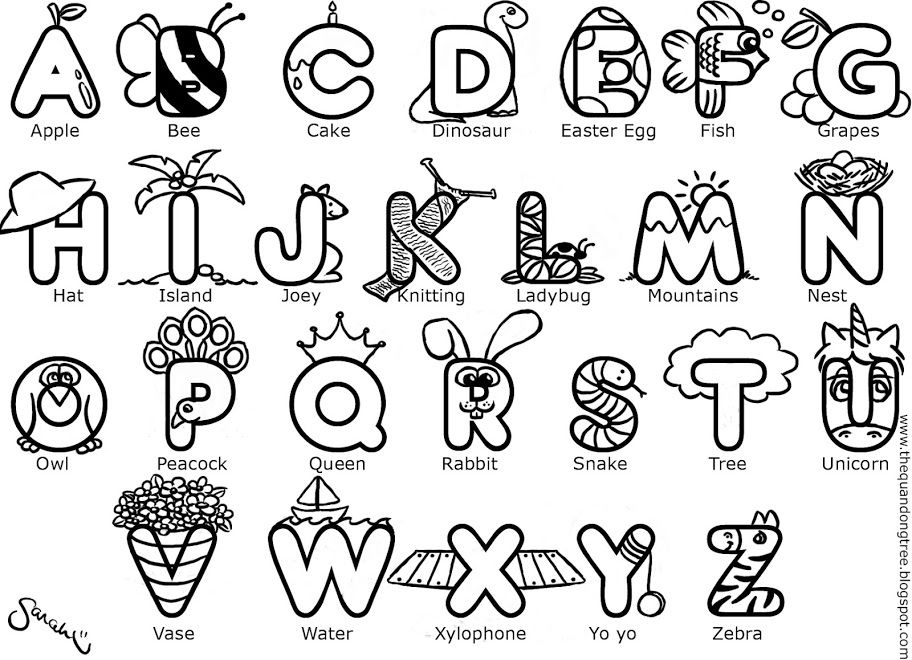 - Abc Coloring Pages In 2020 Abc Coloring Pages, Abc Coloring, Letter A Coloring  Pages
