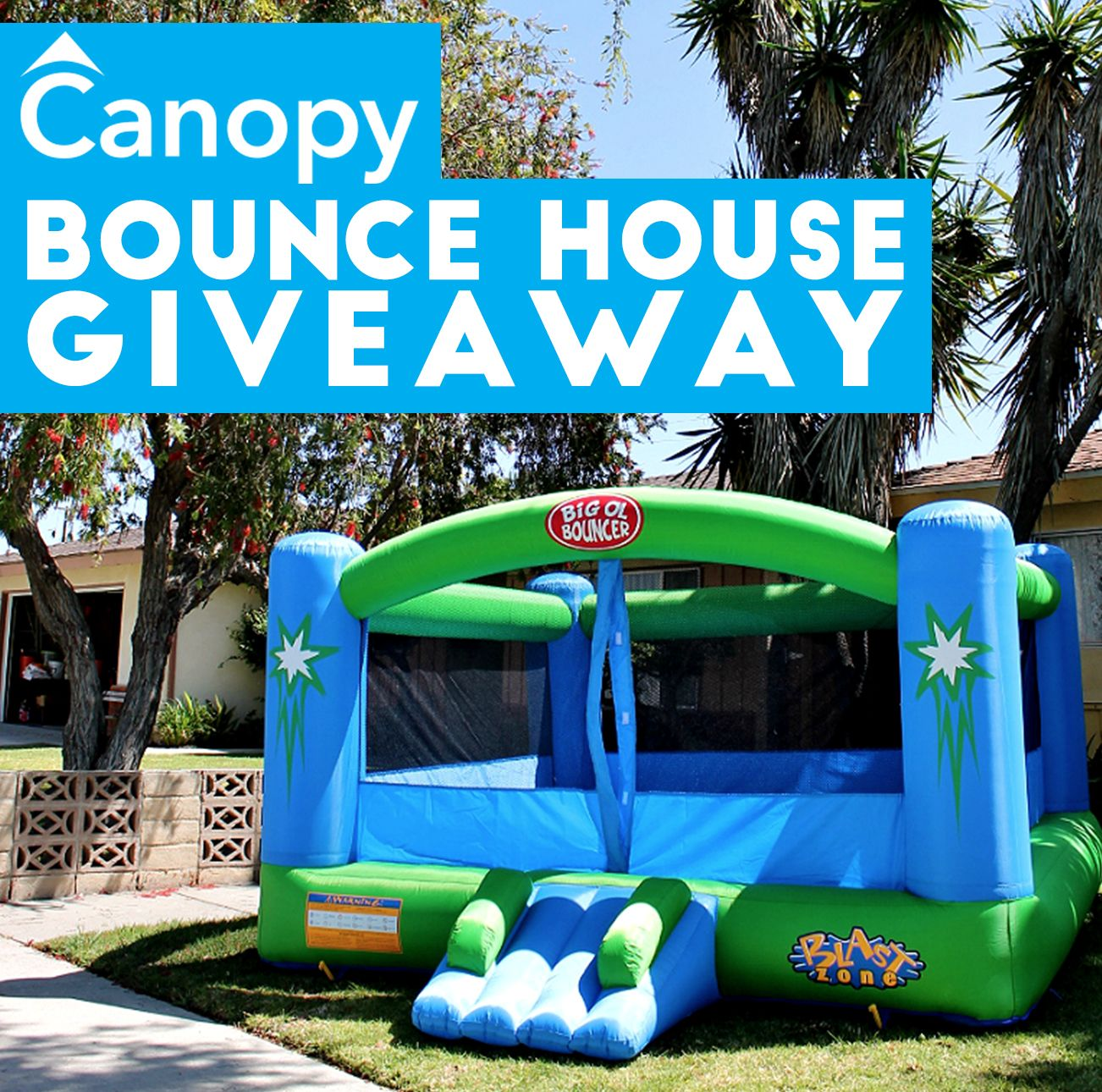 Remarkable Giveaway Enter To Win A Bounce House From Canopy Lawn Care Download Free Architecture Designs Scobabritishbridgeorg