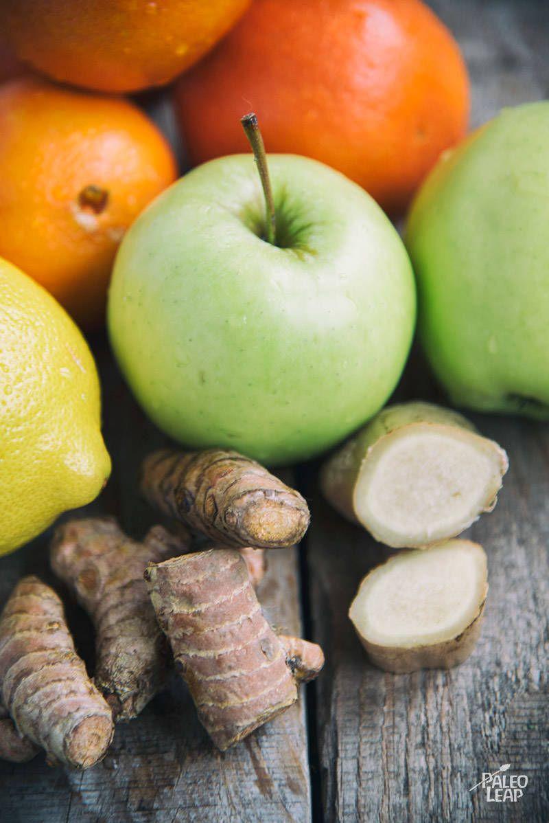 Ginger turmeric orange juice recipe tasty ingredients