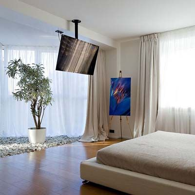 Ideas para colocar una tv de plasma en dormitorios peque os tvs tv walls and tv wall mount - Ideas dormitorios pequenos ...