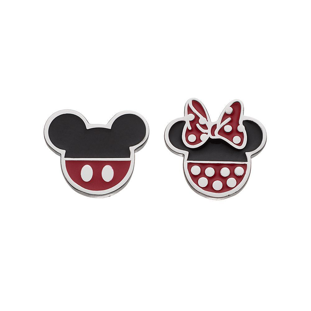 14c2a77b9 Disney's Mickey & Minnie Mouse Kids' Stud Earrings, Girl's, multicolor