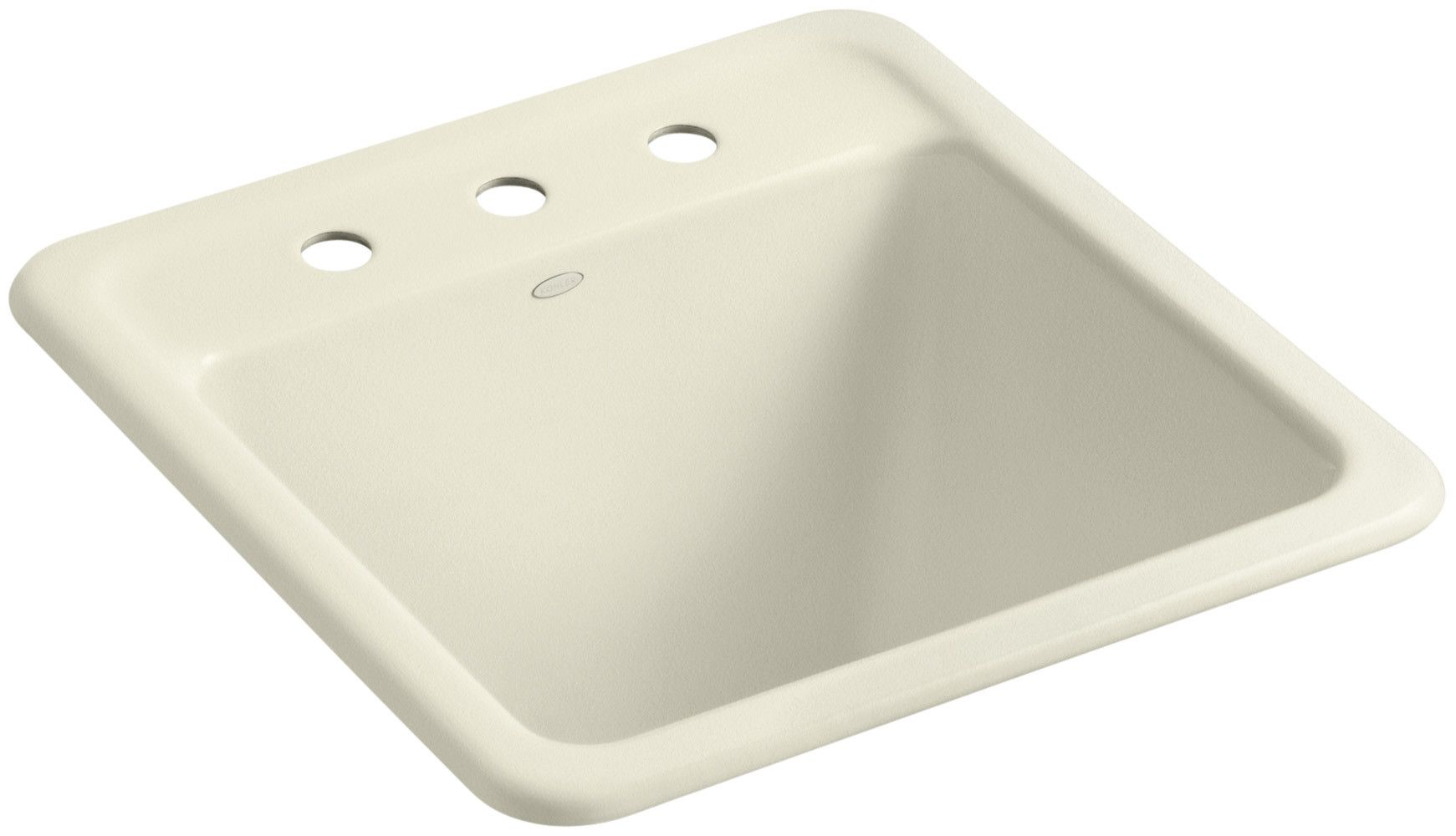 Park Falls Top-Mount/Undermount Utility Sink with Three Faucet Holes