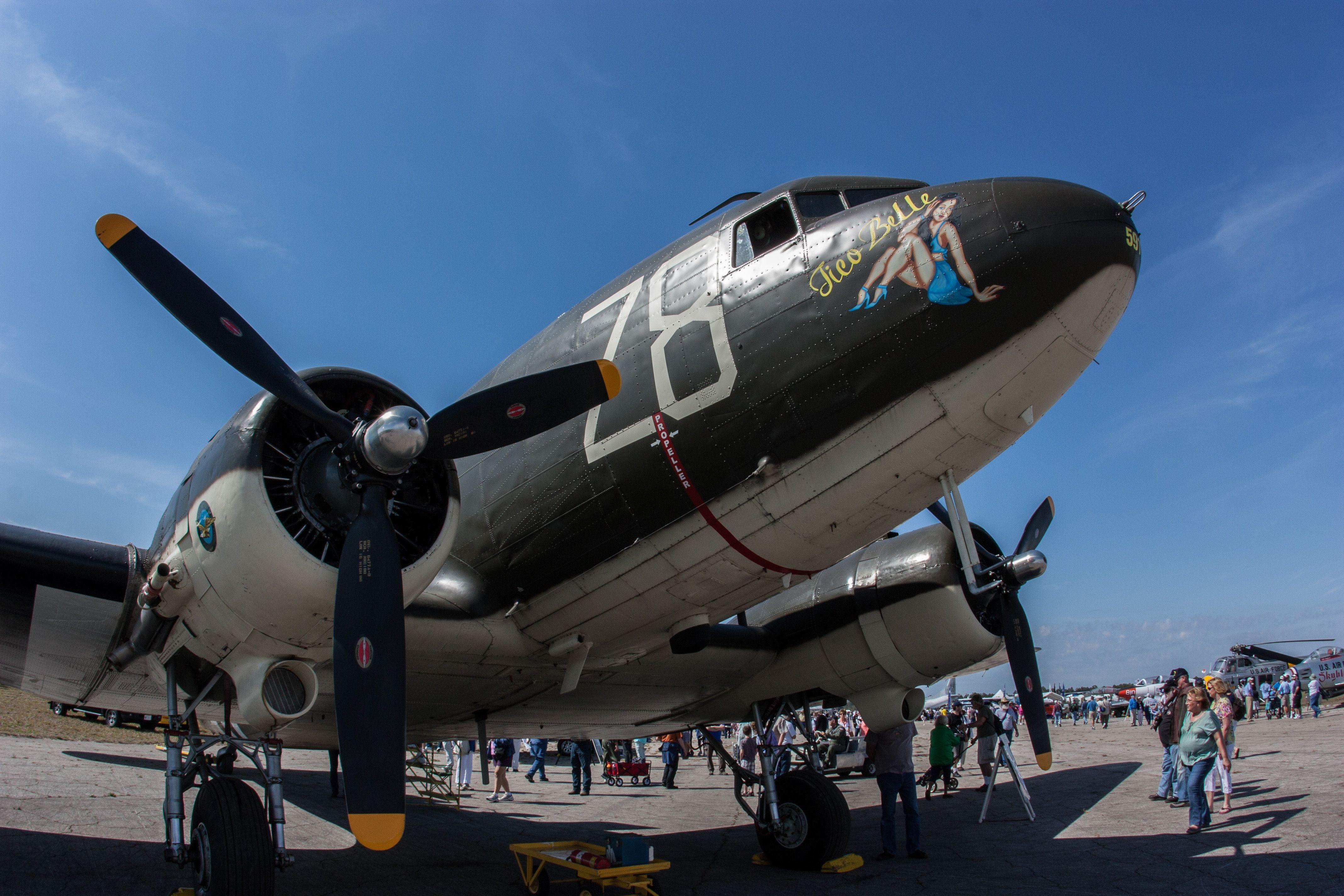 """C-47 """"Tico Belle"""""""