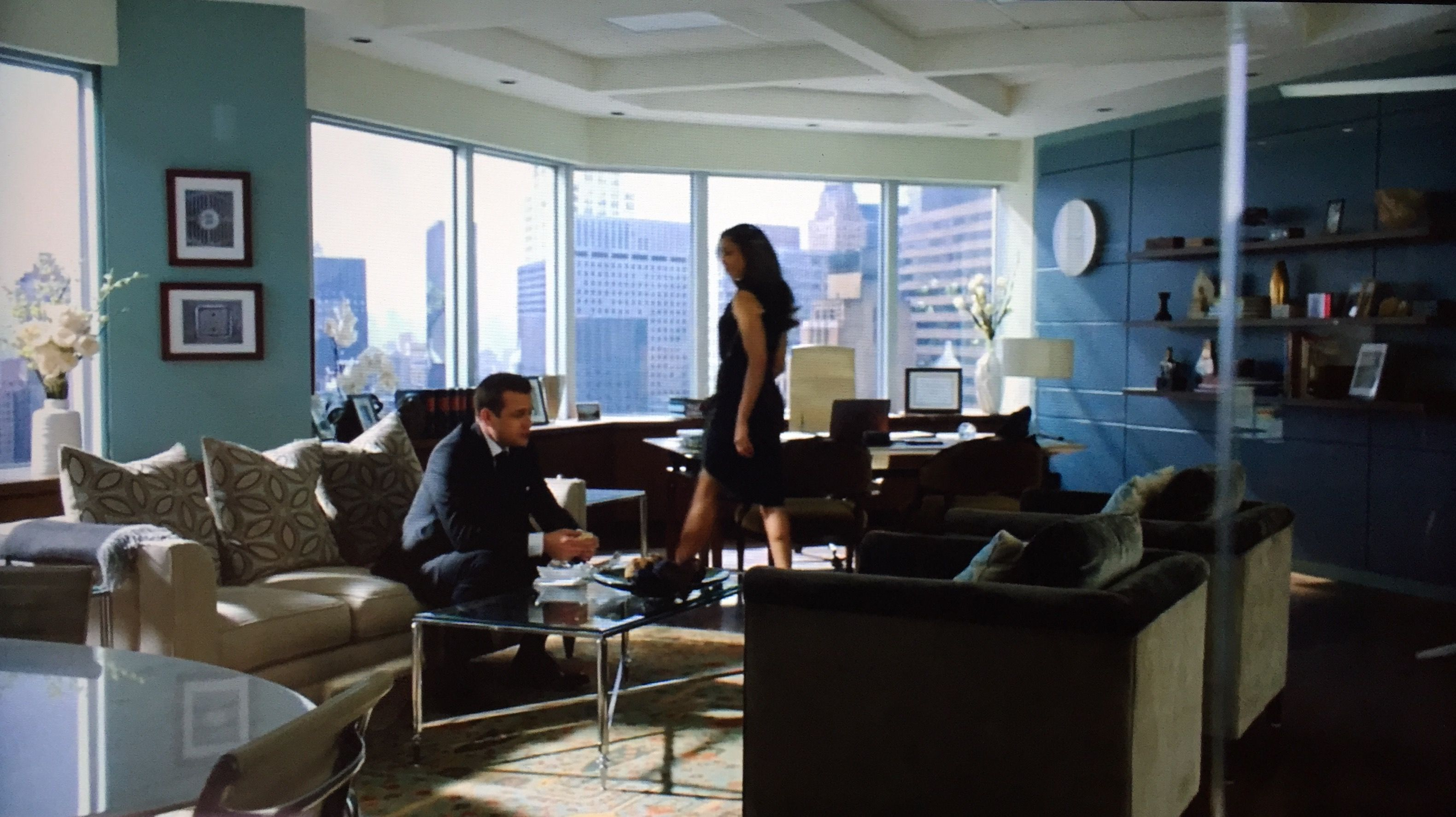 suits office. Jessica Pearson\u0027s Office From The Series Suits On USA. Love Design In This Space