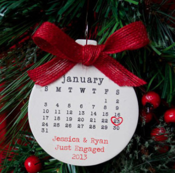 Save The Date Your Cards Could Become Cute Christmas Decorations Just Look At This One If You Don T Believe Us