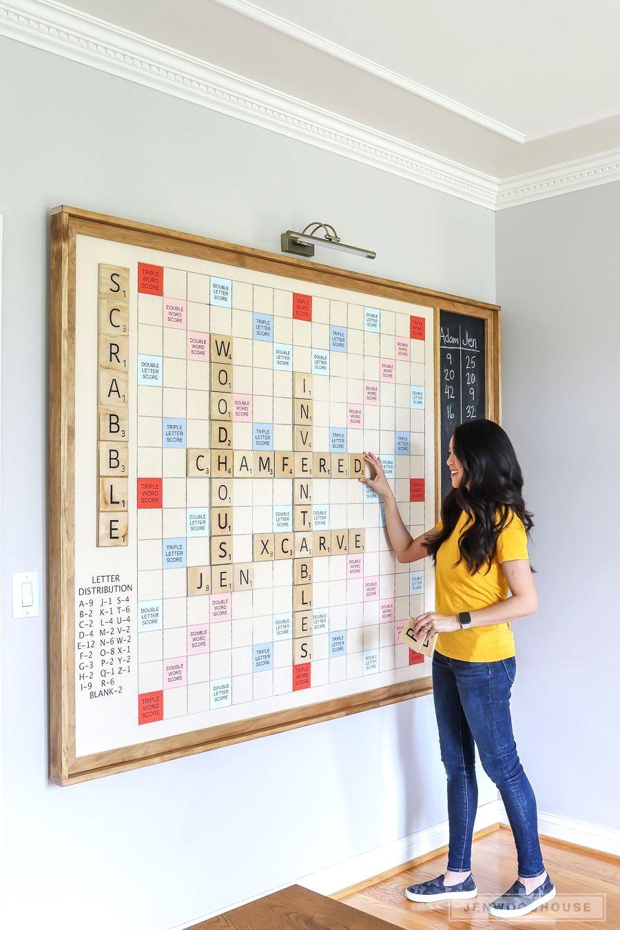 8 Diy Ideas Scrabble Game Scrabble Diy Wall