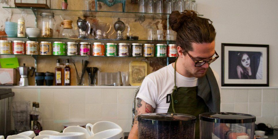 I worked as a barista and a paralegal — and both my bosses