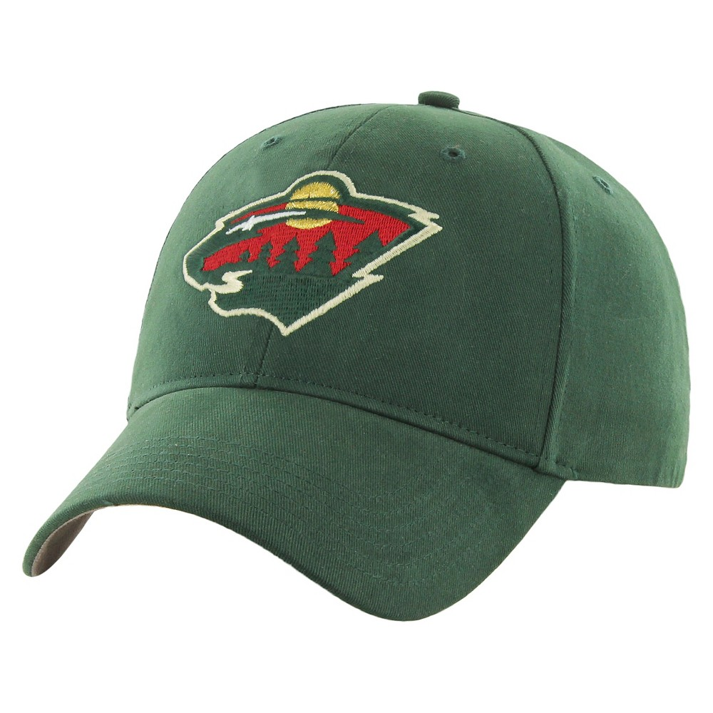 8c2fb4cf04c8a9 Fan Favorite - NHL Basic Cap Minnesota Wild - This comfortable and stylish Fan  Favorite cap with hook and loop closure will show off your great style and  ...