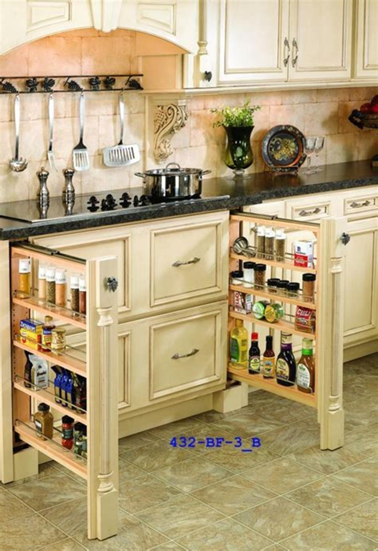 40 Diy Ideas Kitchen Cabinet Organizers 8 Homenthusiastic Kitchen Cabinet Design New Kitchen Cabinets Kitchen Remodel Small
