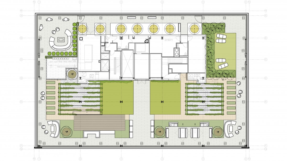 100 Van Ness Rooftop Cmg Landscape Architecture In 2020 Rooftop Landscape Architecture Rooftop Terrace
