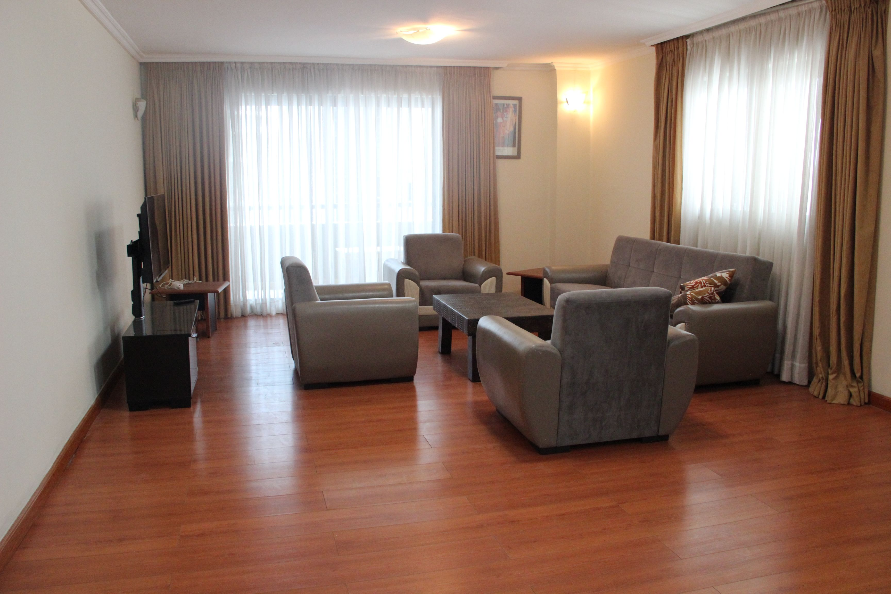 Fully  Furnished Apartment For Rent In Kazanchis Walking Distance From ECA  Addis Ababa, Ethiopia