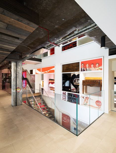 office space memorabilia. Office Space Design · Coca-Cola\u0027s New London Headquarters Is Decorated With Vintage Memorabilia. Memorabilia I