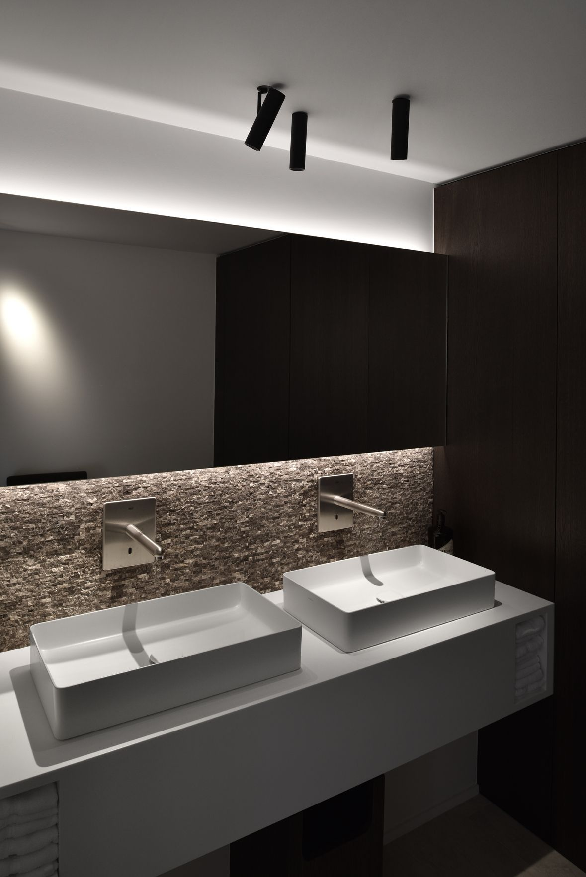 Bathroom lighting by kreon interior bathroom pinterest kreon tools of light is a trendsetting lighting manufacturer which approaches lighting from an architectural perspective aloadofball Images