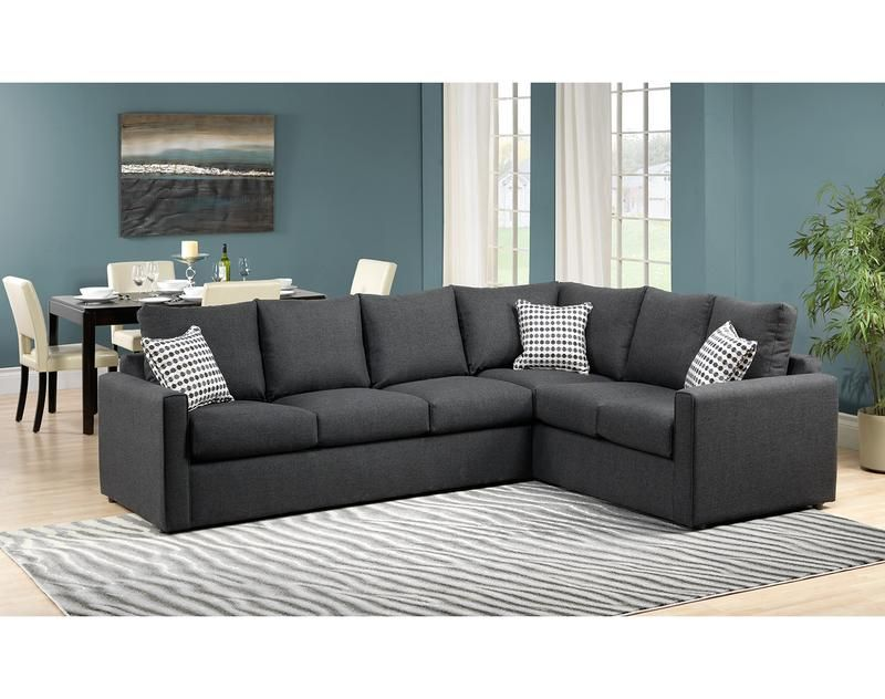 Wondrous Athina 2 Piece Sectional With Left Facing Queen Sofa Bed Ibusinesslaw Wood Chair Design Ideas Ibusinesslaworg