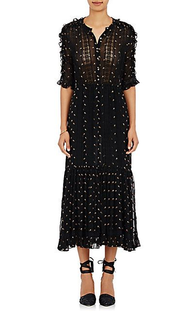 We Adore: The Adalie Embroidered Georgette Maxi Dress from Ulla Johnson at Barneys New York
