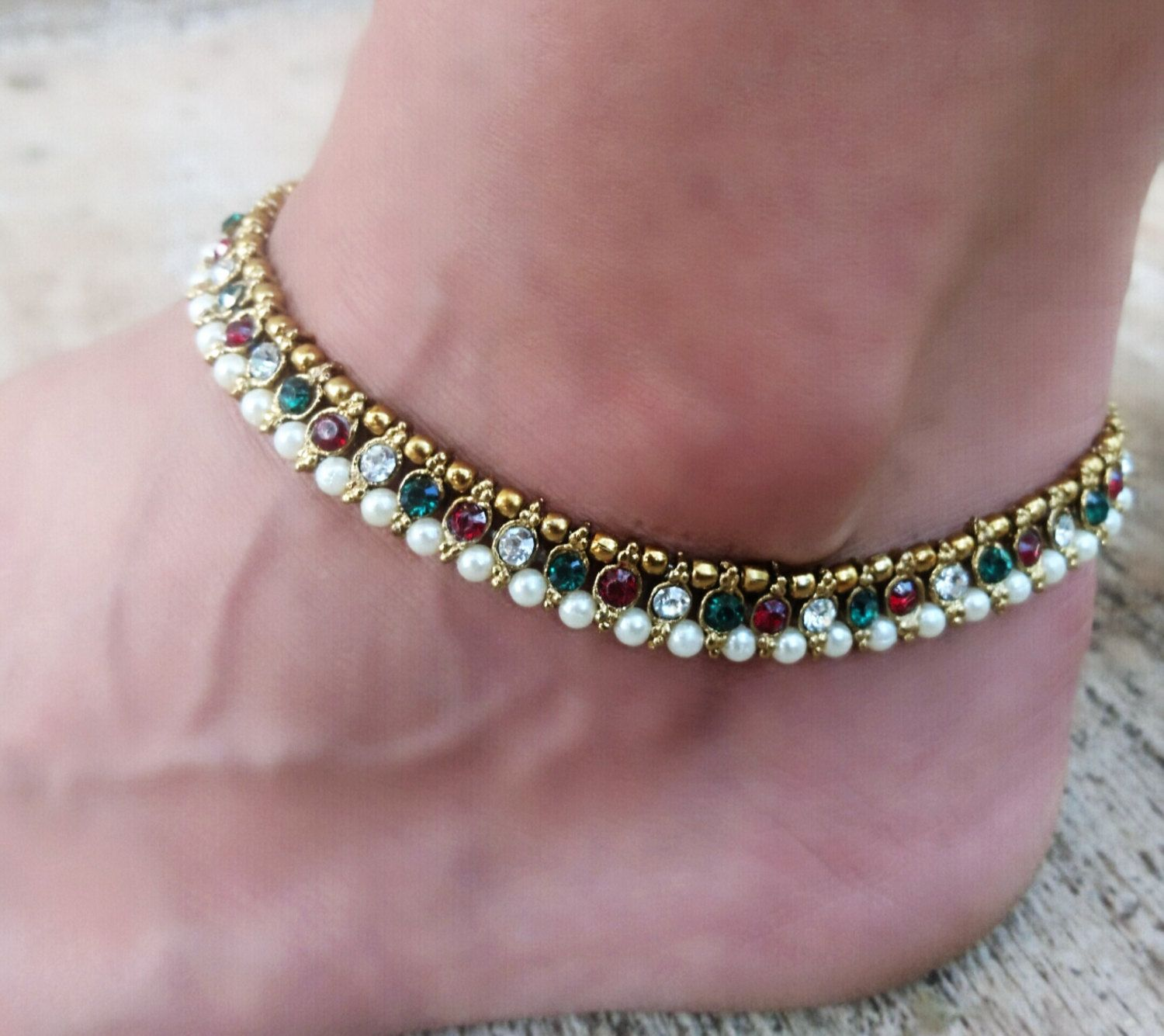 clothing anklet wear jewellery designer latest indian and daily designs