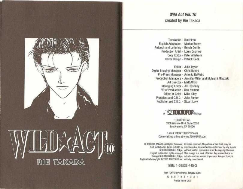 Wild act anime