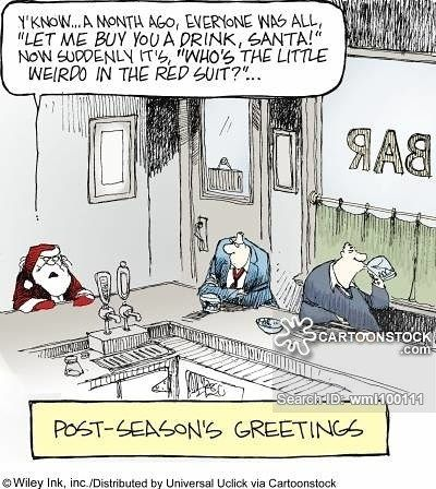 Have a great weekend guys! Don't forget the weirdo in the red suit. #TGIF