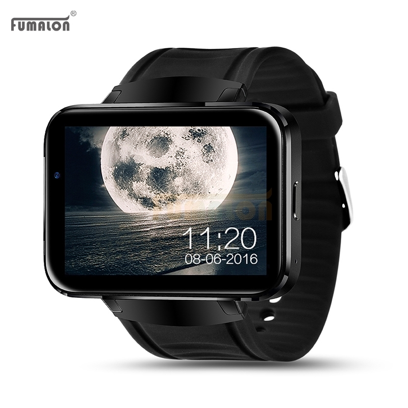 191.65$  Watch more here  - Surprise ! FUMALON FM98 Android OS Smart Watch Phone Support GPS SIM Card MP3 Bluetooth WIFI Smartwatch For Apple Ios Android Os