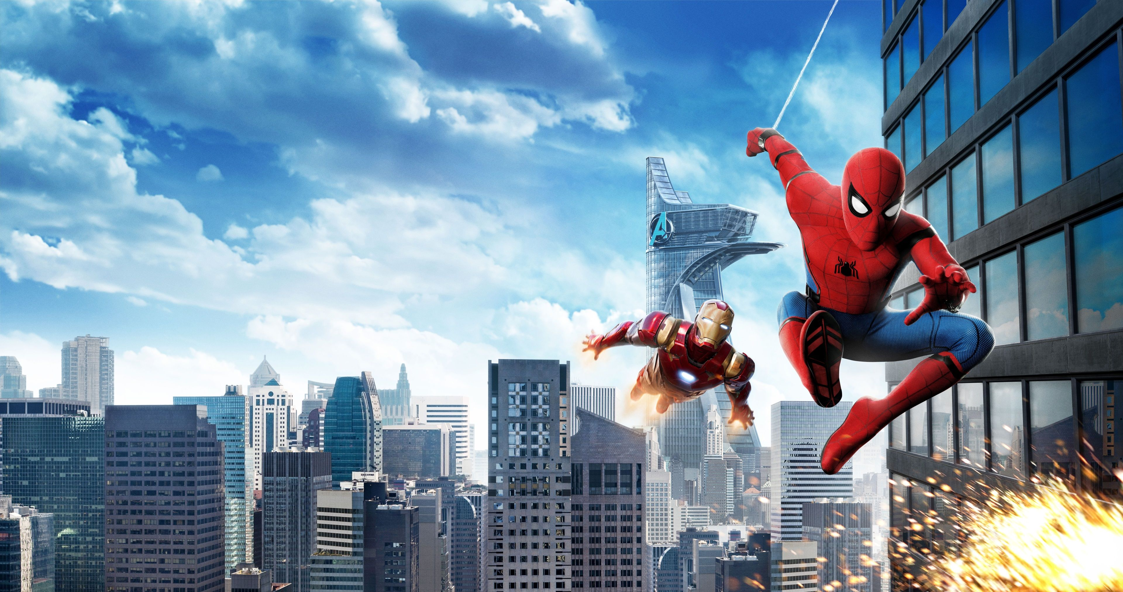 3840x2027 Spider Man Homecoming 4k Best Picture Ever Avengers Wallpaper Marvel Wallpaper Best Pictures Ever