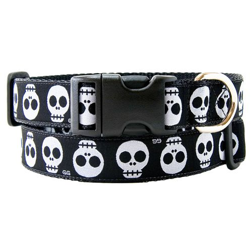 Shop for Gwen Gear Mission Skulls Black Nylon Dog Collar at DOGPetBoutique.com. We have a large selection of dog Collars By Gwen Gear. Fast Shipping & No Hassle Returns where happy dogs shop!