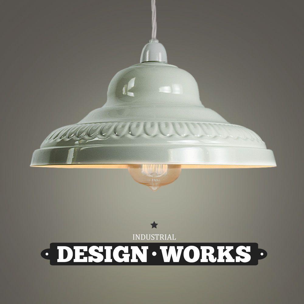 Vintage Retro Cream Metal Ceiling Pendant Light Lamp Shade Lampshade Lights New Antique Lamp Shades Rustic Lamp Shades Small Lamp Shades