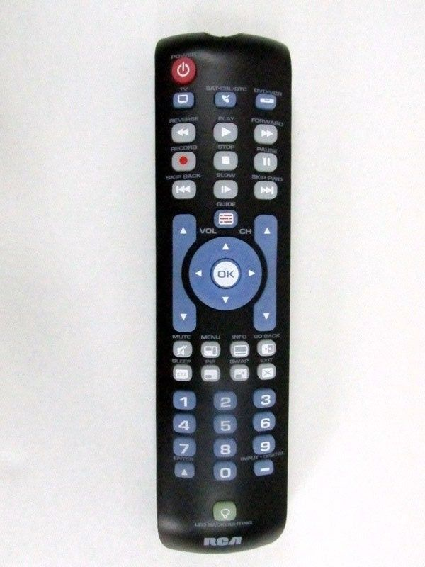 Rcrn03br Rca Universal Remote Control For Tv Sat Cable Strm Dvd