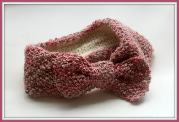 Knitted Winter Headband by WillowWithLove on Etsy, $40.00